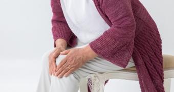 変形性膝関節症のお年寄り